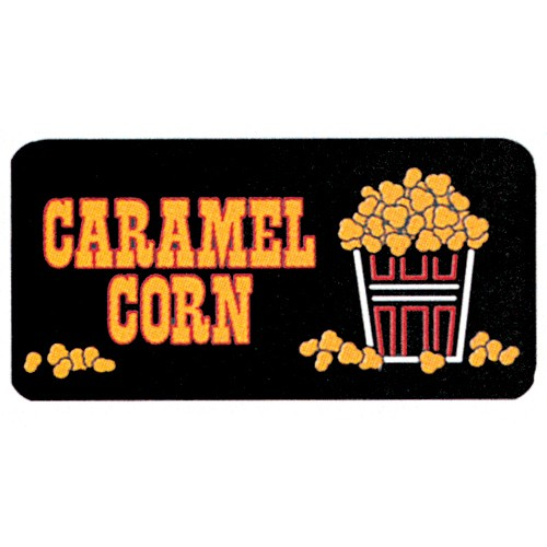 Caramel Corn Lighted Sign - 2584