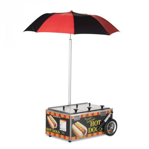 Hot Dog Steamer Cart - 8080